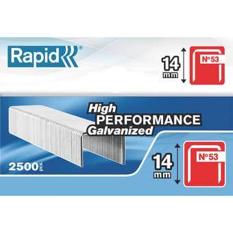 Rapid Staple No.53 14mm - Box of 2500