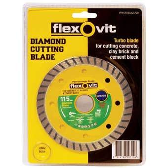 Flexovit Turbo Diamond Blade 115mm