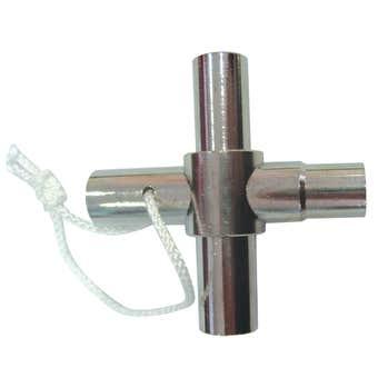 FIX-A-TAP Anti Vandal 4 Way Garden Tap Key
