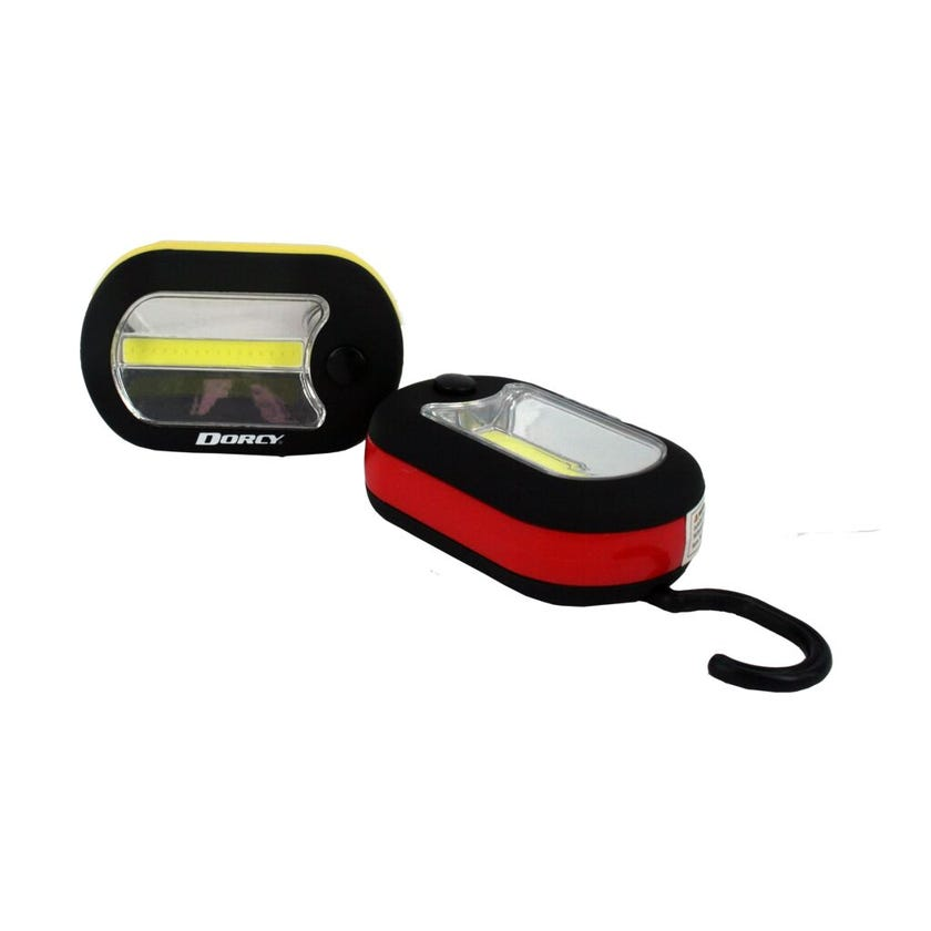 Dorcy Worklight and Flashlight Red and Yellow 150 Lumen