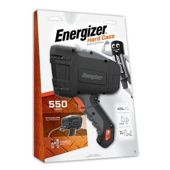 Energizer Hardcase Spotlight Rechargeable 550 Lumens