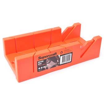Supercraft Plastic Mitre Box 300mm x 100mm