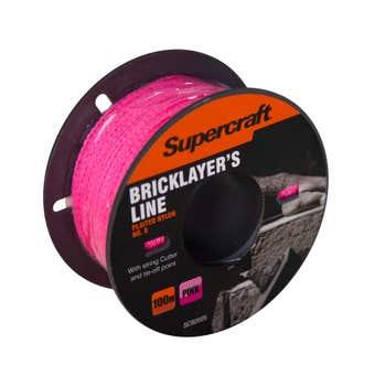 Supercraft Brickline Pink 100m