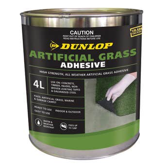 Dunlop Artificial Grass Adhesive 4L
