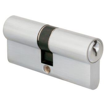 Delf Anti Panic Euro Cylinder Polished Chrome