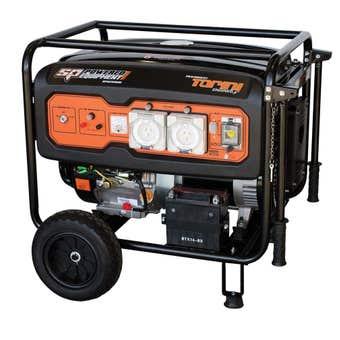 SP Powered 6.8KVA Diesel Construction Generator