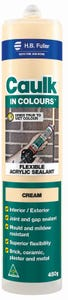 HB Fuller Caulk In Colours™ Cream 450g