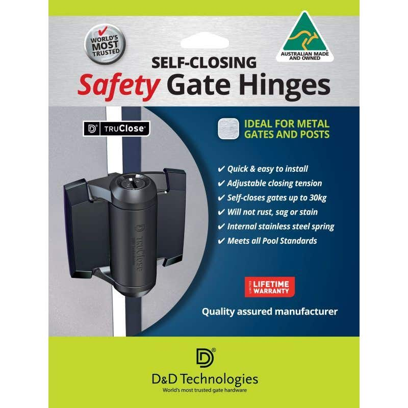 TruClose Self-Closing Pool Gate Safety Hinges