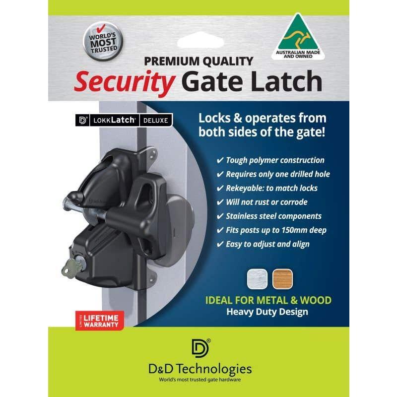LokkLatch Deluxe Security Gate Latch