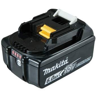Makita 18V 6.0Ah Li-Ion Battery with Fuel Gauge