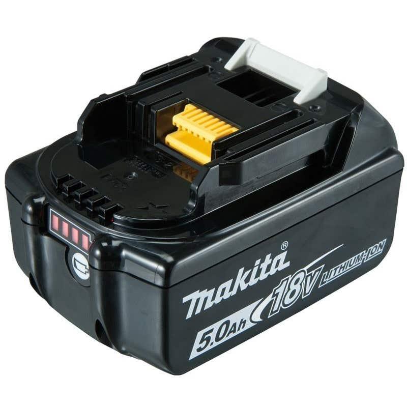 Makita 18V 5.0Ah Battery with Fuel Gauge