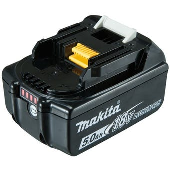 Makita 18V 5.0Ah Battery with Fuel Gauge