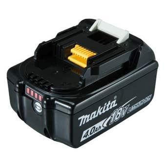 Makita 18V 4.0Ah Battery with Fuel Gauge