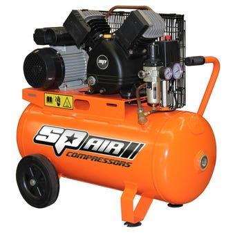 SP Trade Belt Air Compressor 2.2HP 50L