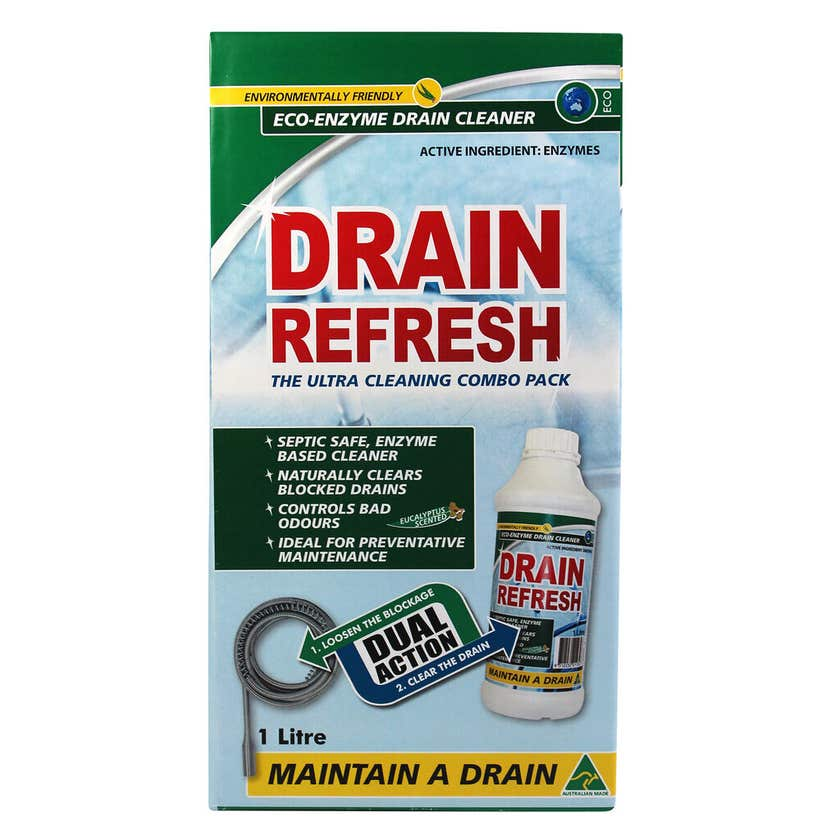 Boston Drain Refresh Ultra Cleaning Combo Pack