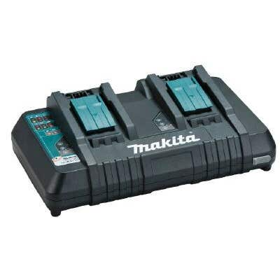 Makita 18V Same Time Dual Port Rapid Charger