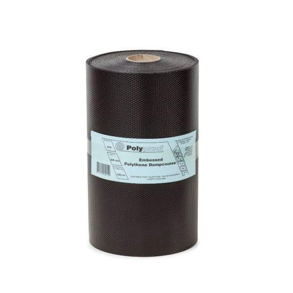 Polyproof Embossed Polythene Dampcourse 300mm x 30m x 500um