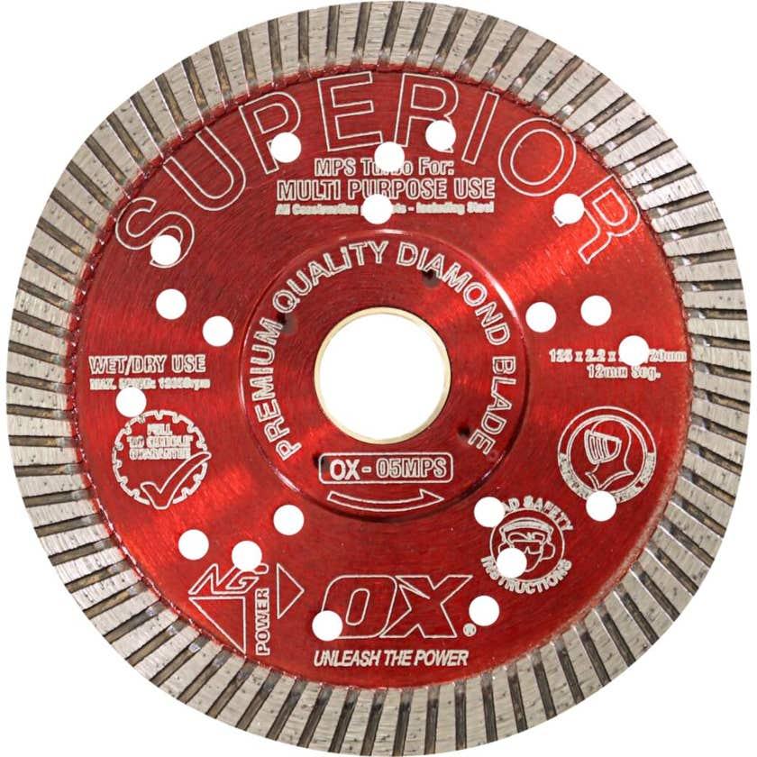 OX Professional Turbo Superior Diamond Blade