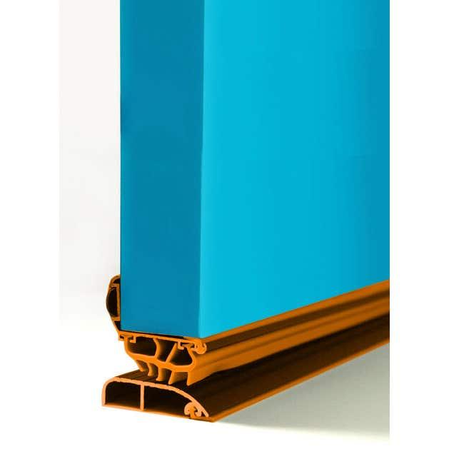 Cowdroy Weatherproof Door Seal Clear 1220mm