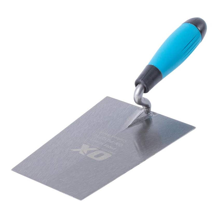 OX Pro Series Square Front Trowel 180mm