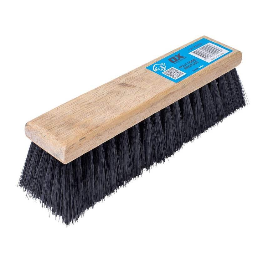 Ox Trade Series Brickies Brush Poly Fibre Bristles 70 x 300mm