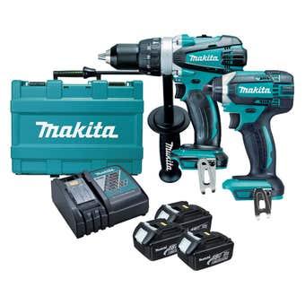 Makita DLX2145X1 18V 3.0Ah Combo Kit - 2 Piece
