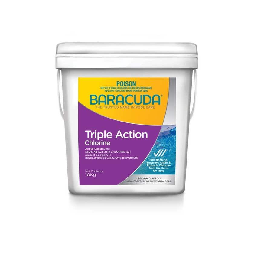Baracuda Triple Action Chlorine 10kg