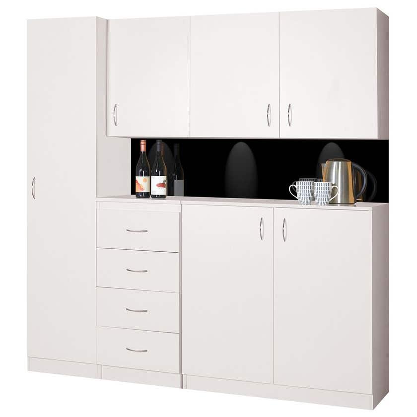 Faulkner 1 Door 3 Shelf Floor Unit 450mm