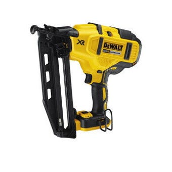 DeWALT 18V XR Li-Ion Brushless 16GA Finishing Nailer Skin