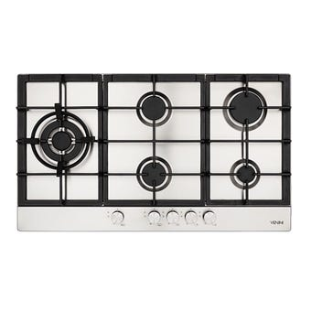 Venini Gas Cooktop 5 Burner 900mm