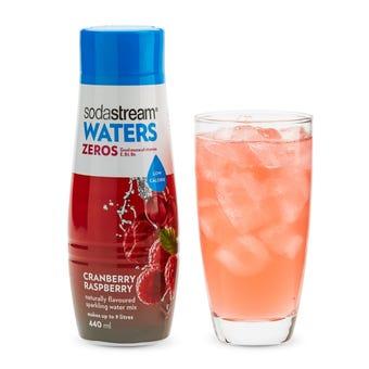 SodaStream Zeros Cranberry Raspberry Syrup 440ml