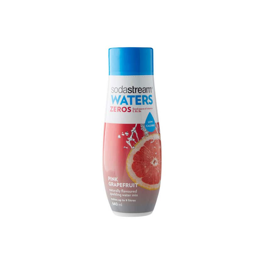 SodaStream Zeros Pink Grapefruit 440ml