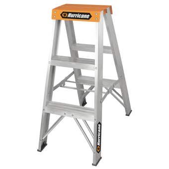 Hurricane™ 0.9m Double Sided Ladder 120kg Domestic