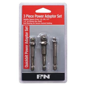 P&N Quickbit Power Adaptor Set - 3 Piece