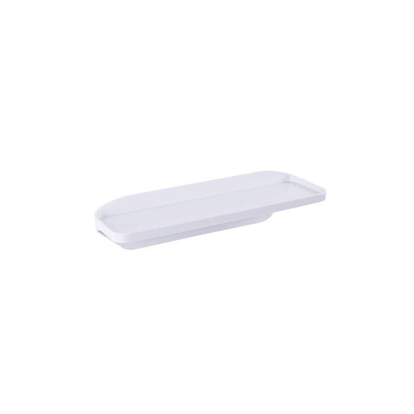 Naleon Self Adhesive Shelf White