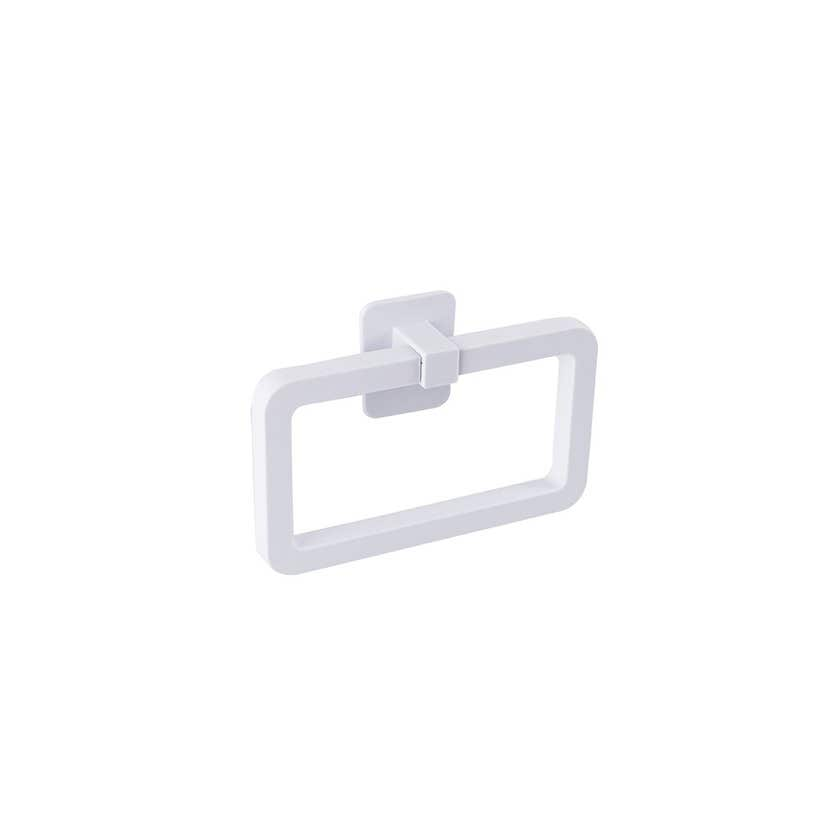 Naleon Self Adhesive Towel Ring White