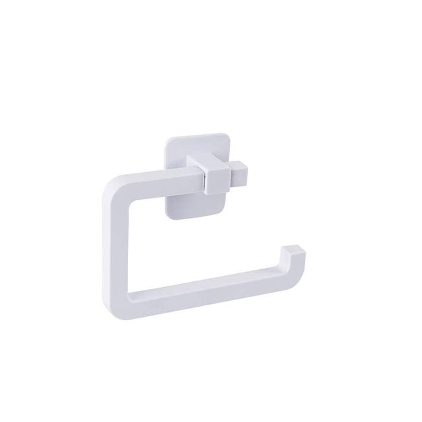 Naleon Self Adhesive Toilet Roll Holder White