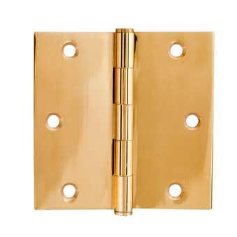Trio Door Hinge Solid Brass 90 x 50 x 1.90mm - CD2