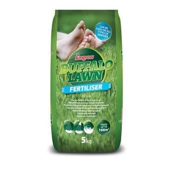 Amgrow Buffalo Lawn Fertiliser 5kg