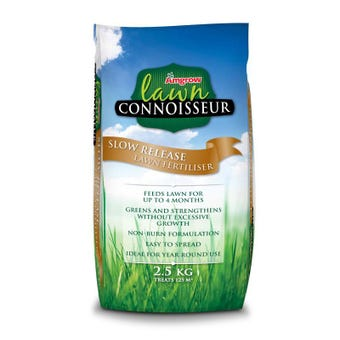 Amgrow Lawn Connoisseur Slow Release Lawn Fertiliser 2.5kg