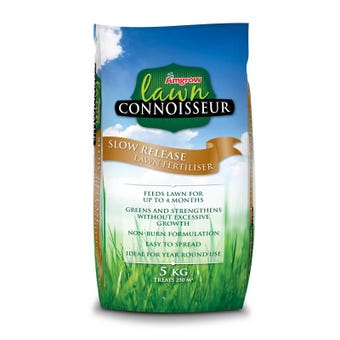 Amgrow Lawn Connoisseur Slow Release Fertiliser 5kg