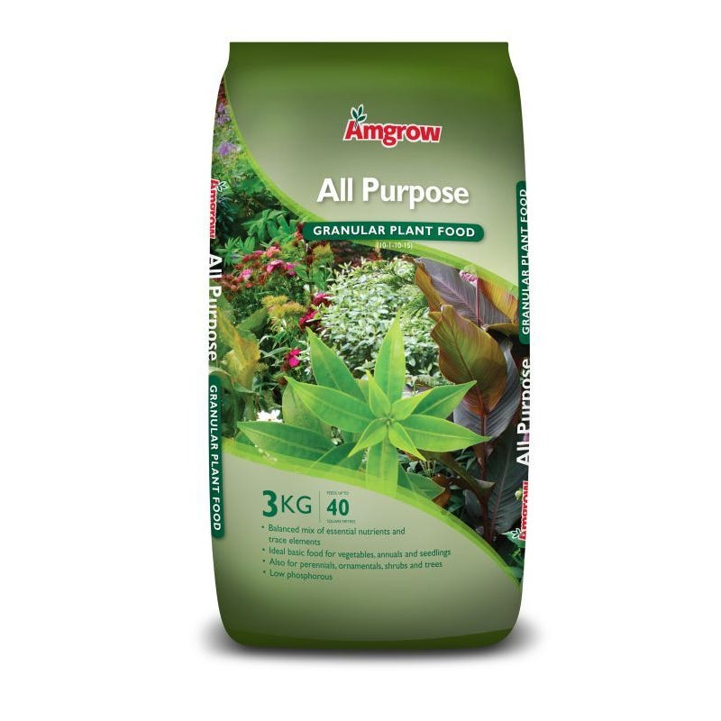 Amgrow All Purpose Granular Plant Food 3kg