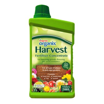 Amgrow Organix Harvest Fertiliser Concentrate 1L