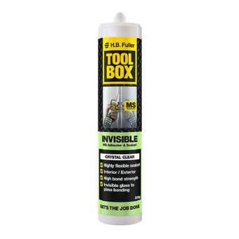 H.B. Fuller Tool Box Invisible Adhesive & Sealant 300g