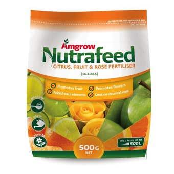 Amgrow Nutrafeed Citrus/Fruit/Rose Fertiliser 500g
