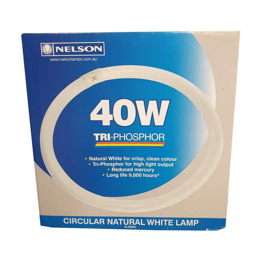 Nelson Circular Fluorescent Lamp 40W Natural