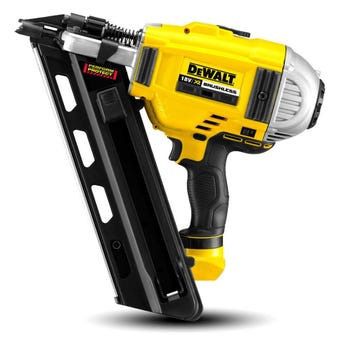 DeWALT 18V Li-Ion 2 Speed Framing Nailer XR 90mm Skin