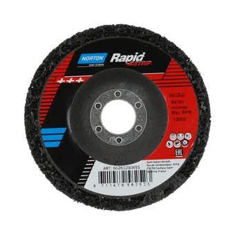 Norton Rapid Strip Disc 125 x 22mm