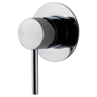 Brasshards Mixx Trinsik Shower Mixer Chrome