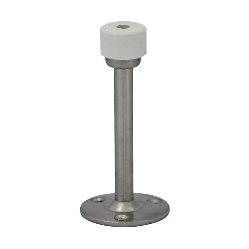 Trio Given Wall Mounted Doorstop Chrome Plated 75mm